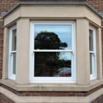 Weighted sliding sash bay windows in this home built circa 2006 - by North Country's partners Totali