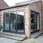 Aluminium Bifolding Doorsets in Anthracite Grey - by North Country.