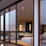 Origin slimline sliding aluminium patio doors