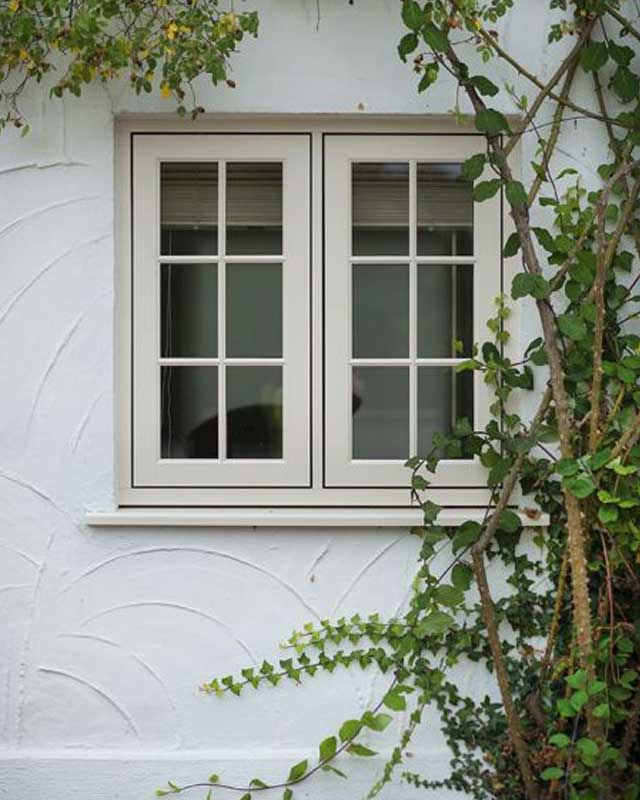 Georgian style timber effect casement windows Harrogate-North-Yorkshire