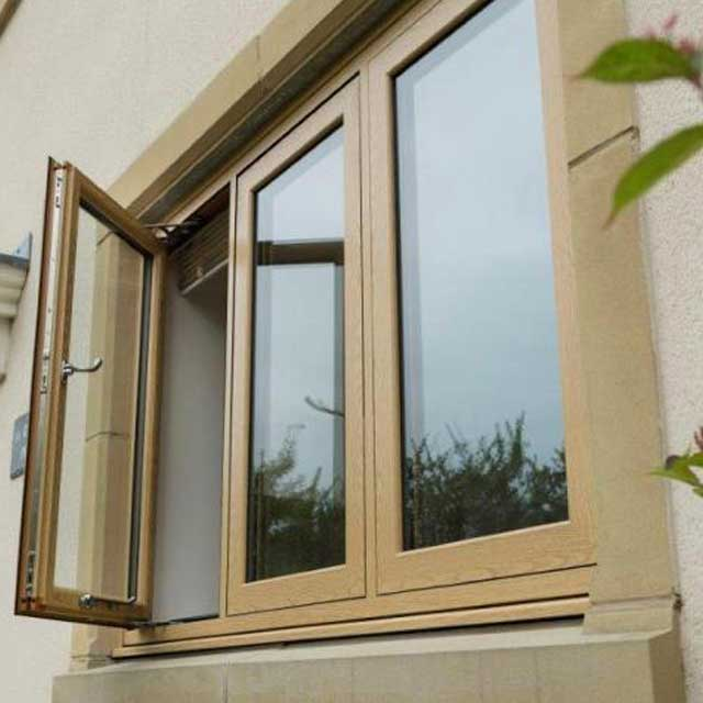 Timber effect casement windows Harrogate North Yorkshire