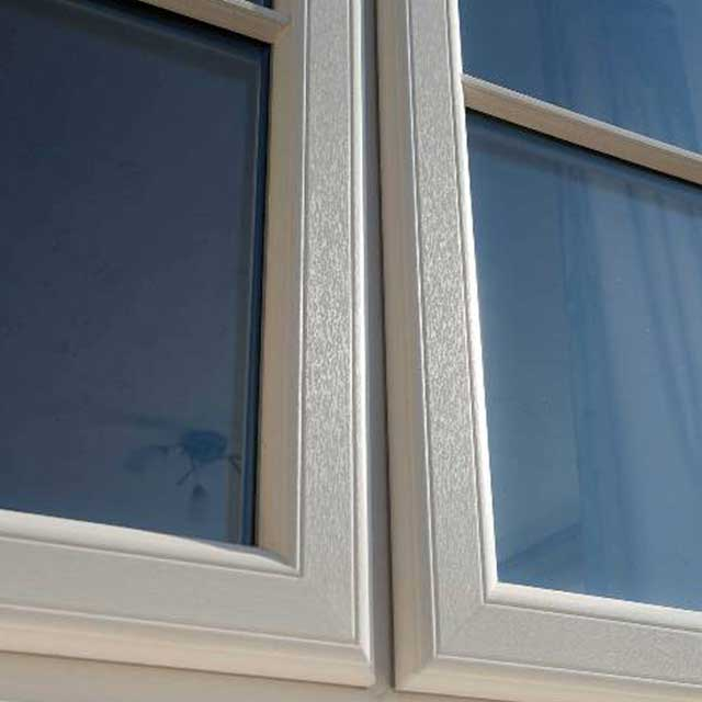 Timber effect storm proof-casement windows Harrogate North Yorkshire
