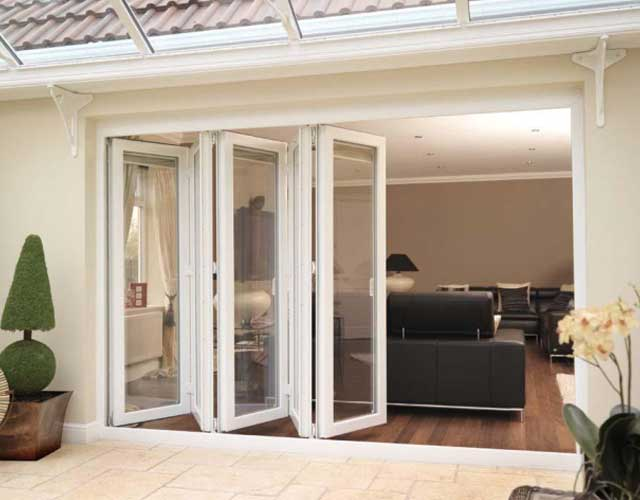 uPVC bifold doors Harrogate North Yorkshire