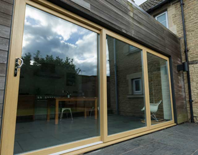 uPVC sliding patio doors Harrogate North Yorkshire